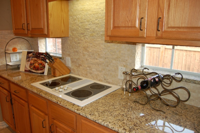Backsplash For Santa Cecilia Granite Countertop Concept Beautiful Santa Cecilia Gold Granite Countertops Photos  Home .